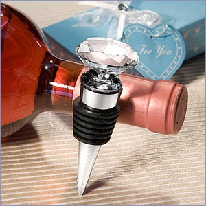 Diamond Design Bottle Stopper