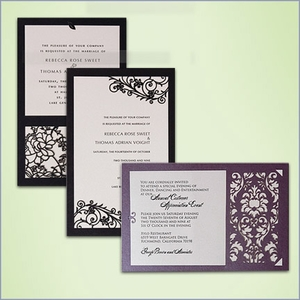 DIY Wedding Invitation Kits (Pack of 10)