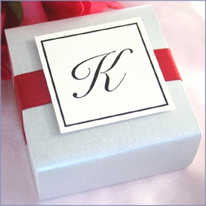 DIY White Wedding Favor Box Kit