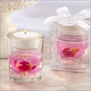 Elegant Orchid Tealight Holder