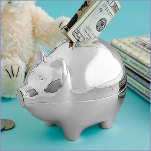 Engravable Piggy Bank