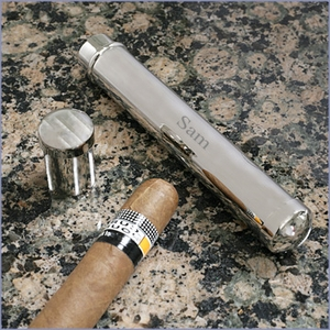 Engravable Single Cigar Holder