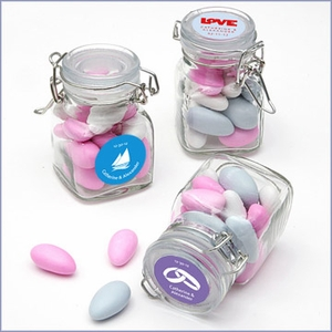 Exclusive Designs Apothecary Jar Favors - Pack of 24