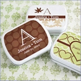 Exclusive Mint Tin Personalized Wedding  Favors