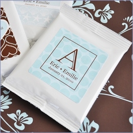 Exclusive Personalized Wedding Hot Cocoa Favors