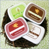 Fall for Love Personalized Wedding Mint Tins Favors