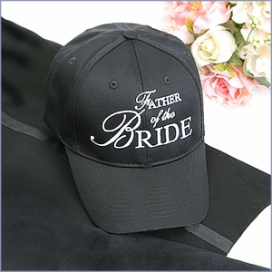 Father of the Bride Hat - Black