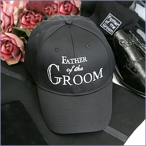Father of the Groom Hat - Black