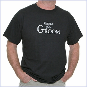 Father of the Groom T-Shirt - Black