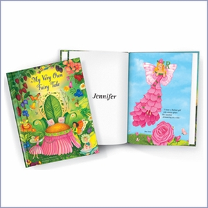 Flower Girl Fairy Tale Personalized Storybook