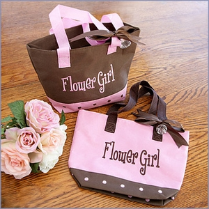 Flower Girl Twill Tote