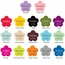 Flower Shaped Personalized Stickers
