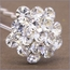 Francesca Rhinestone Bridal Hair Stick - Set of 6