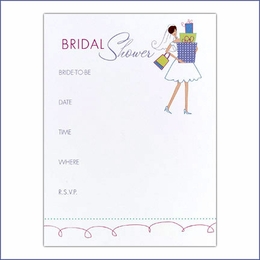 Gifts Bridal Shower Invitations - Set of 25