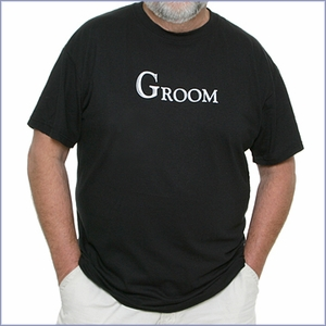 Groom T-Shirt - Black