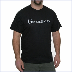Groomsman T-Shirt - Black