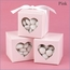 Heart Shaped Window Favor Boxes - Set of 25