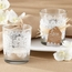 Lace Frosted Glass Tealight Holder - Set of 4