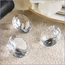 Large Diamond Shaped Wedding Table Decoration Jewels - Set of 3