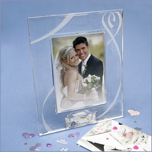 Lenox True Love Crystal Frame 5X7