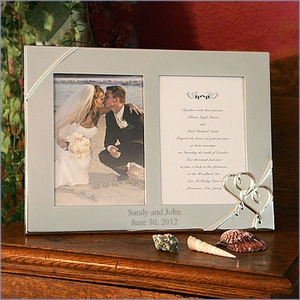 Lenox True Love Wedding Invitation Frame