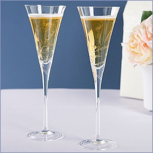 Lenox Wedding Toasting Flutes Set