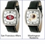 Licensed NFL Team Leather Watches
