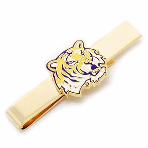 LSU Tigers Tie Bar