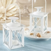 White Lantern Tea Light Holder