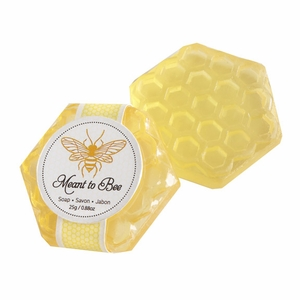 Meant To Bee Honey Scented Honeycomb Soap Favor