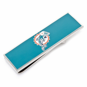 Miami Dolphins Money Clip