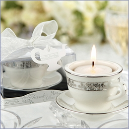 Miniature Teacups Tealight Holder