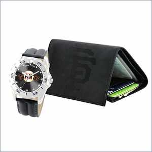 MLB Licensed Watch and Wallet Set