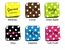 Personalize Polka Dot Coaster Set (Set of 4)