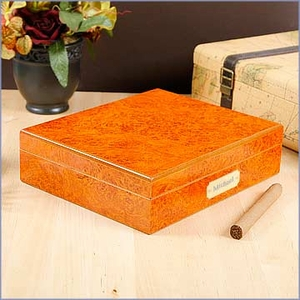 Personalized 15-20 Travel Humidor
