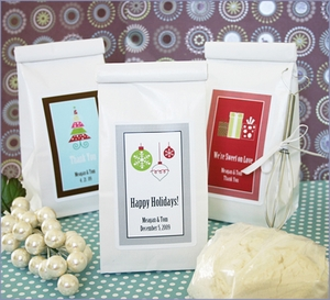 Personalized A Winter Holiday Sugar Cookie Mix Wedding Favors