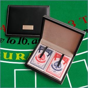 Personalized Case with Deck of Cards