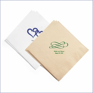Personalized Eco-Friendly Dinner Napkins