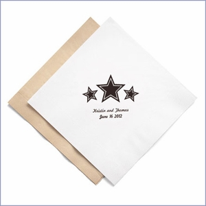 Personalized Eco-Friendly Luncheon Napkins