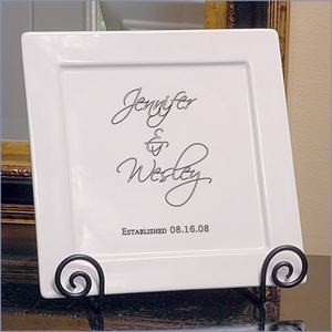 Personalized Elegant Decorative Platter