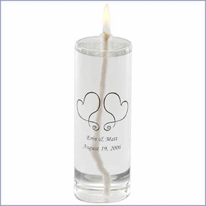 Personalized Eternity Unity Candle