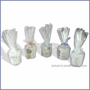 Personalized Favor Candles