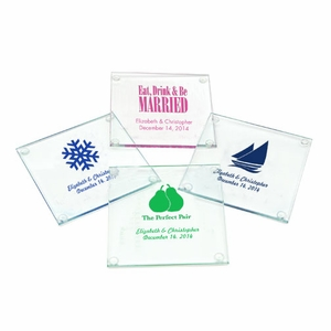 Personalized Glass Coaster - Set of 12