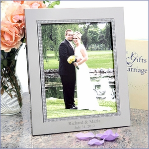 Personalized Glitter Galore 8 x 10 Picture Frame