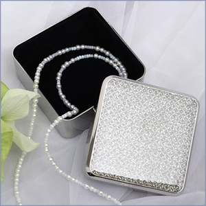 Personalized Glitter Jewelry Box