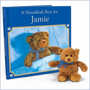 Personalized Hanukkah Book Gift Set