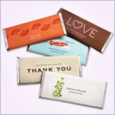 Personalized Large Hershey's Chocolate Bars ( Pack of 12)
