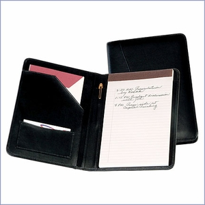 Personalized Leather Jr. Writing Padfolio