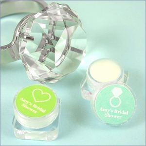 Personalized Lip Balm Bridal Shower Favors
