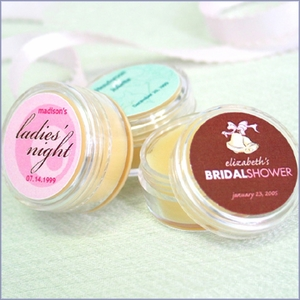 Personalized Lip Butter Favors